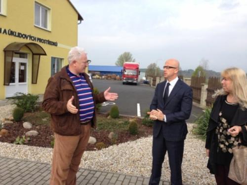 Návštěva JUDr. Pavla Teličky
